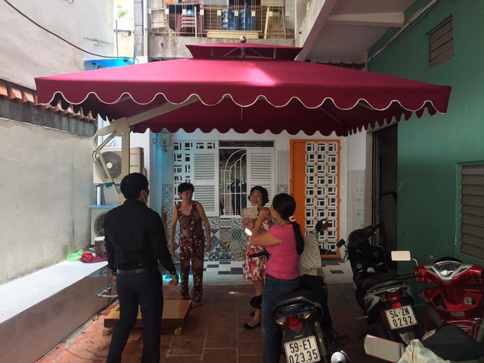 Bán Dù Che Nắng Tại Thành Phố Vinh Nghệ An, Dù Lệch Tâm Giá Rẻ
