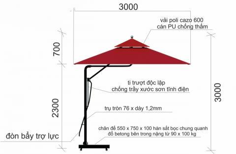 Điểm Bán Dù Che Nắng Tại Thị Xã Thuận An, Dù Che Nắng Giá Rẻ