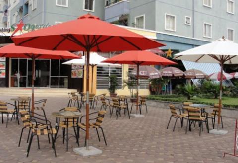 Ô Dù Che Nắng Quán Cafe